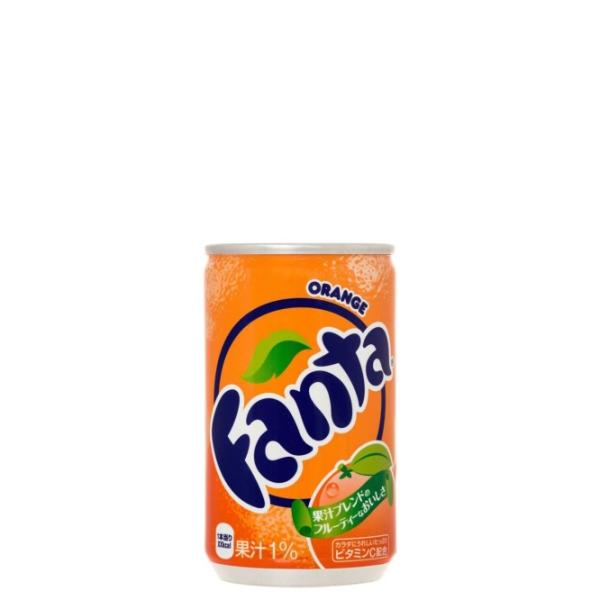 【送料無料】ファンタオレンジ 160ml缶 30本入り の商品画像