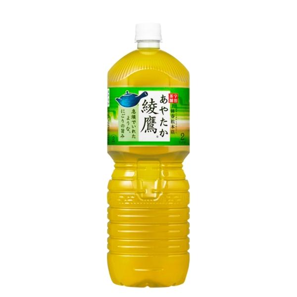 【送料無料】綾鷹 ペコらくボトル2LPET 6本入り の商品画像