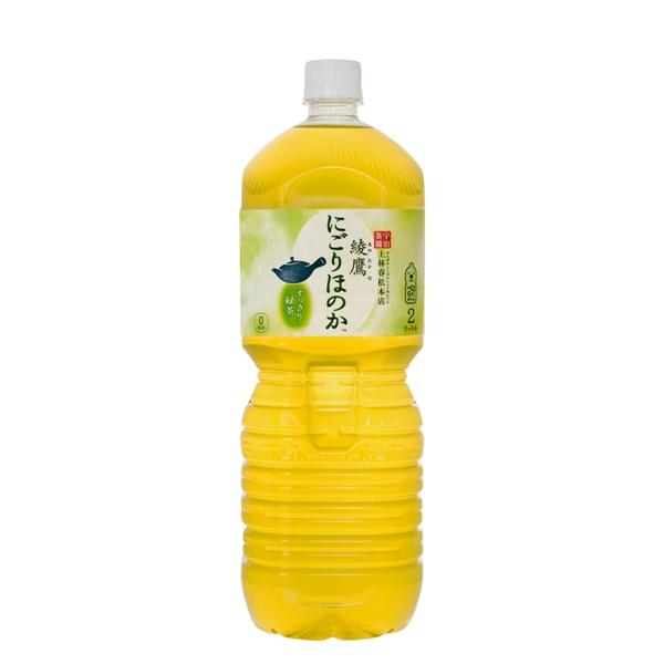 【送料無料】綾鷹にごりほのか ペコらくボトル2LPET 6本入り の商品画像