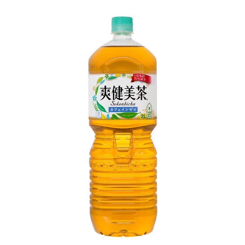 【送料無料】爽健美茶 ペコらくボトル2LPET 6本入り の商品画像