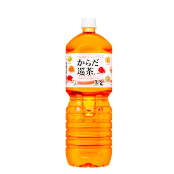 【送料無料】からだ巡茶 ペコらくボトル2LPET 6本入り の商品画像