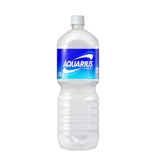 【送料無料】アクエリアス ペコらくボトル2LPET 6本入り の商品画像