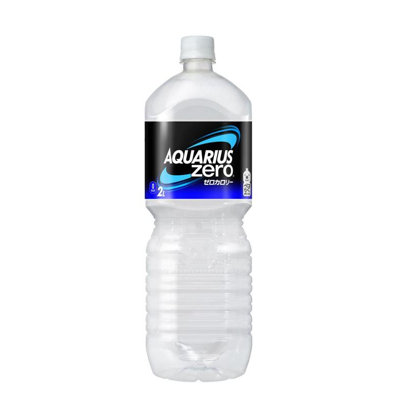 【送料無料】アクエリアスゼロ ペコらくボトル2LPET 6本入り の商品画像