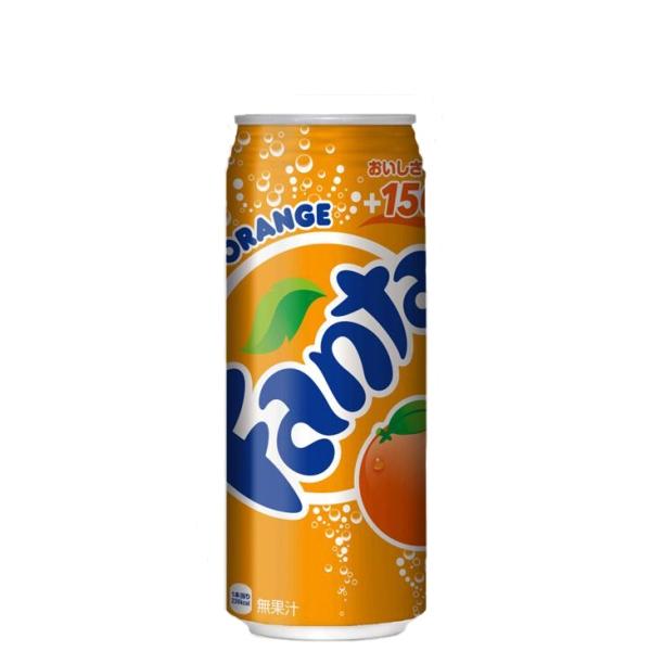 【送料無料】ファンタオレンジ 500ml缶 24本入り の商品画像