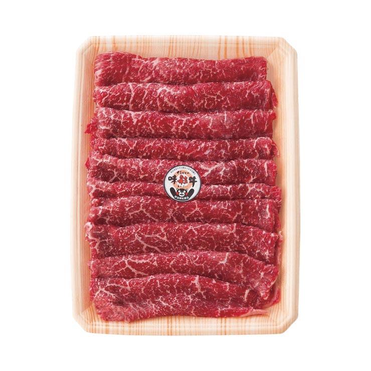 【送料無料】くまもと味彩牛 すきやき用(モモ・450g)  の商品画像