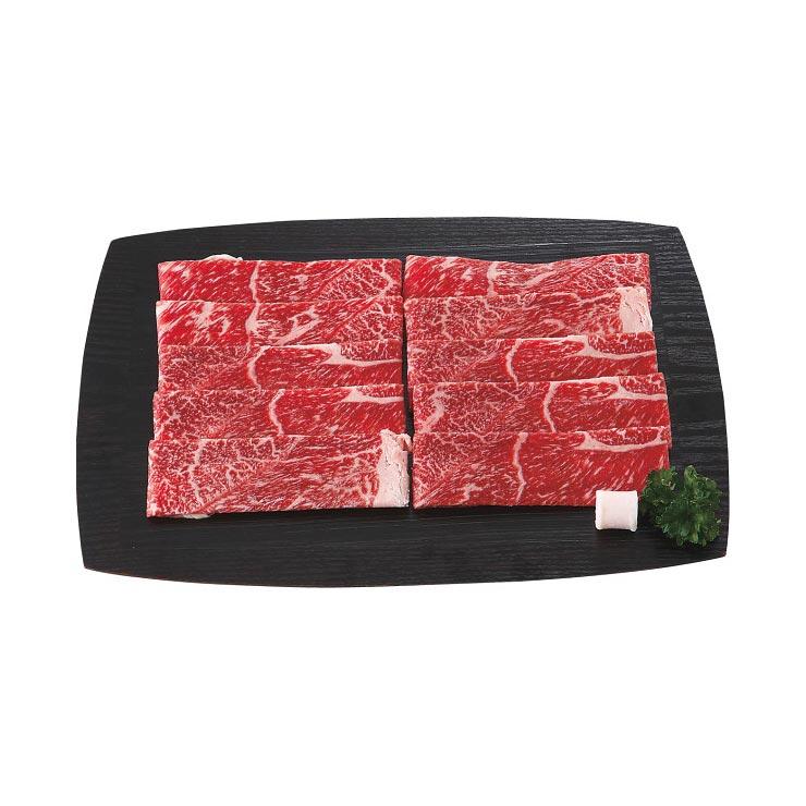 【送料無料】九州産黒毛和牛すきやき(400g) L−Y−S040−4 の商品画像