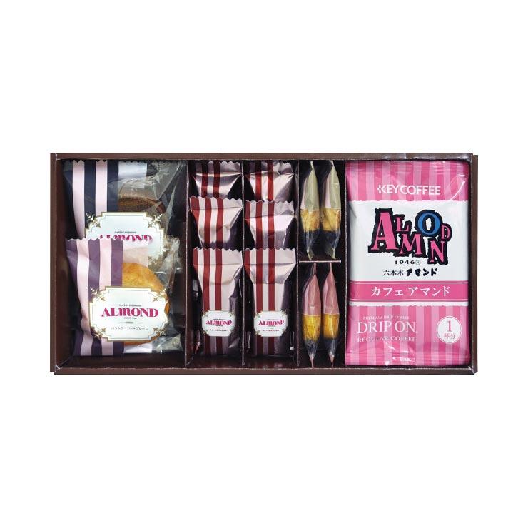 【送料無料】キーコーヒー&アマンド焼き菓子詰合せ KAL−15 の商品画像