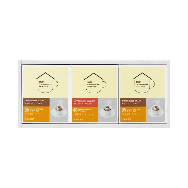 【送料無料】UCC カフェインレスドリップコーヒーギフト YDC−12HS の商品画像