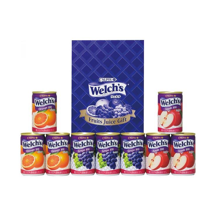 【送料無料】ウェルチ 100%果汁ギフト W10 の商品画像
