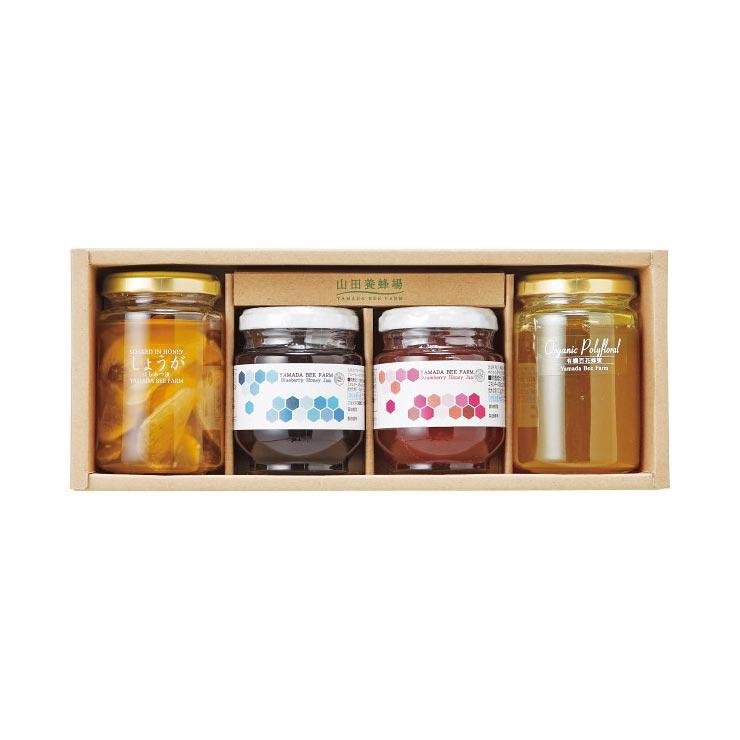 【送料無料】山田養蜂場 完熟はちみつギフト 42526 の商品画像