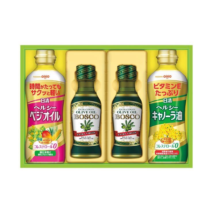 【送料無料】日清 オリーブオイル&バラエティオイルギフト OV−20 の商品画像