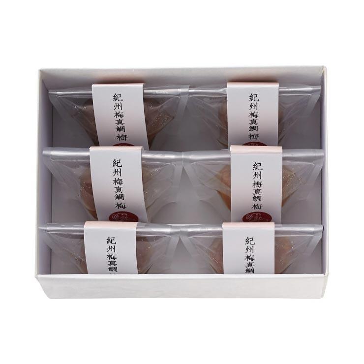 【送料無料】紀州梅真鯛梅(6個)  の商品画像