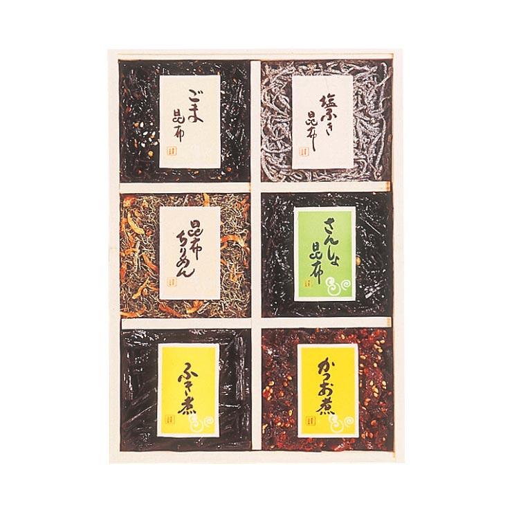 【送料無料】くらこん 美味彩々詰合せ(6品・木箱入)  の商品画像