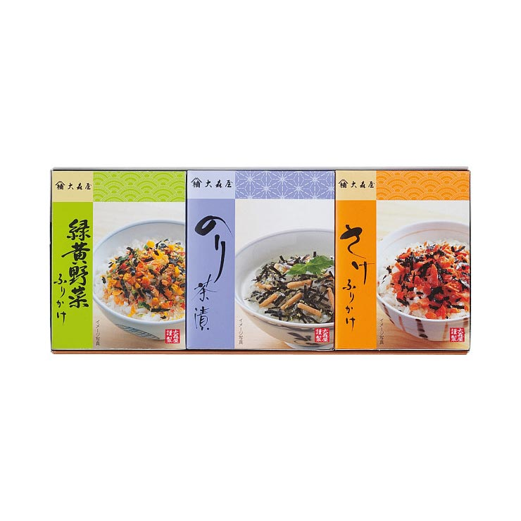 【送料無料】大森屋 ふりかけ・お茶漬詰合せ M−10 の商品画像