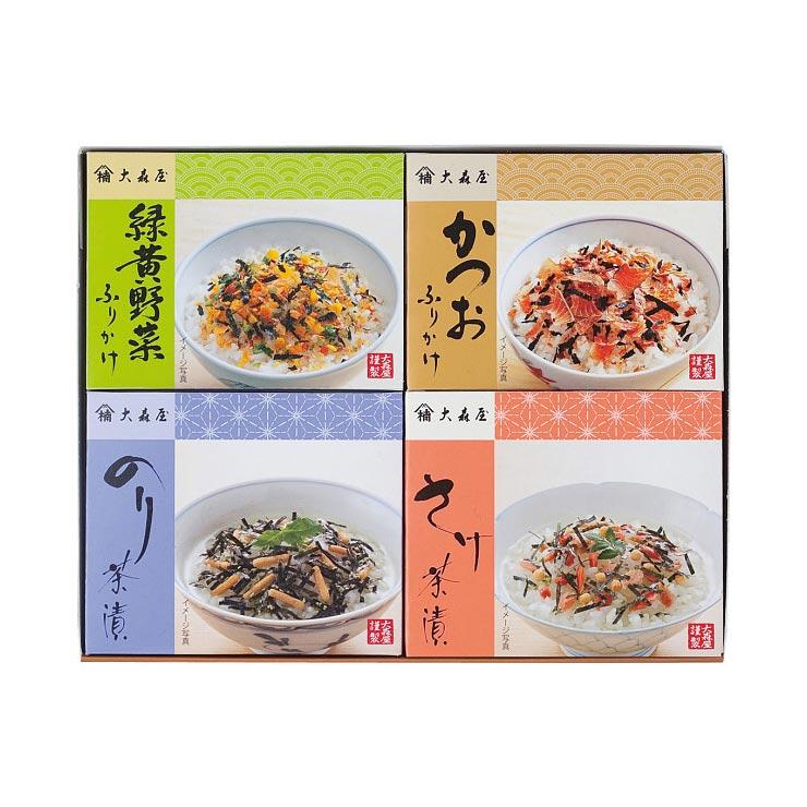 【送料無料】大森屋 ふりかけ・お茶漬詰合せ M−15 の商品画像