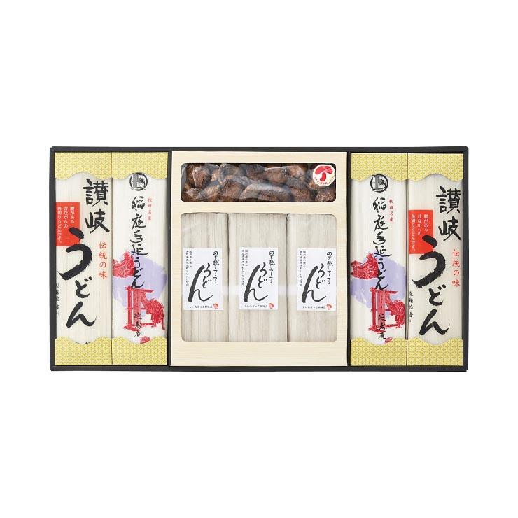 【送料無料】うどん・椎茸詰合せ ZIS−50 の商品画像
