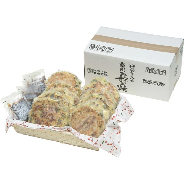 【送料無料】京野菜の入った京風お好み焼きセット の商品画像