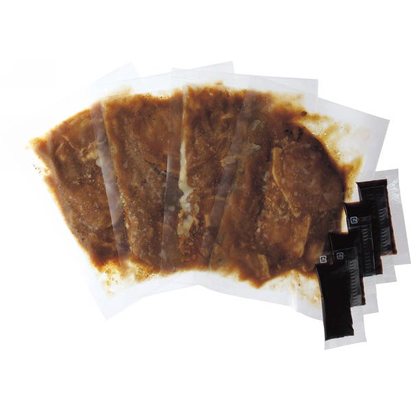 【送料無料】帯広名物 ぶた八の豚丼の具(4食) の商品画像