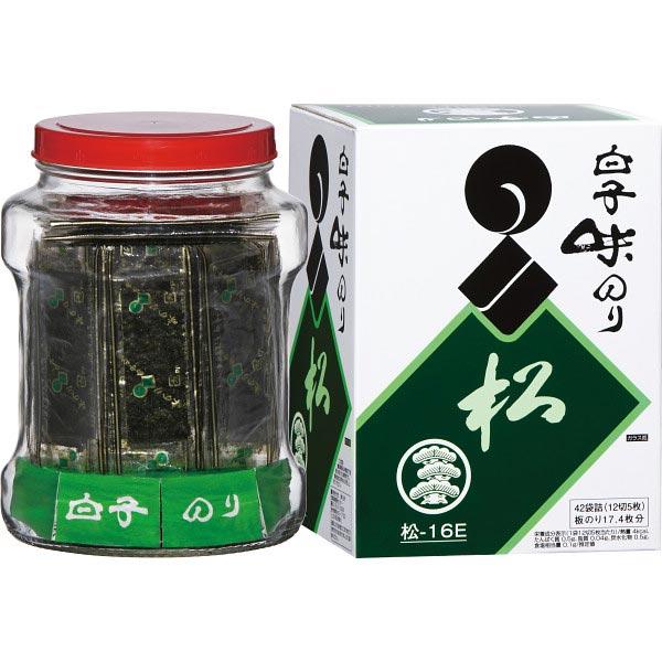 【送料無料】白子のり 瓶入り味のり 松−16E の商品画像