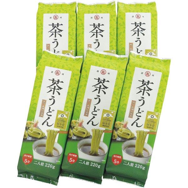 【送料無料】石丸製麺 讃岐茶うどん(220g×6袋) の商品画像
