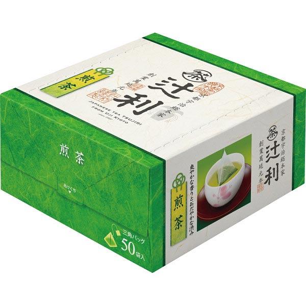 【送料無料】辻利 三角バッグ煎茶(50P) の商品画像