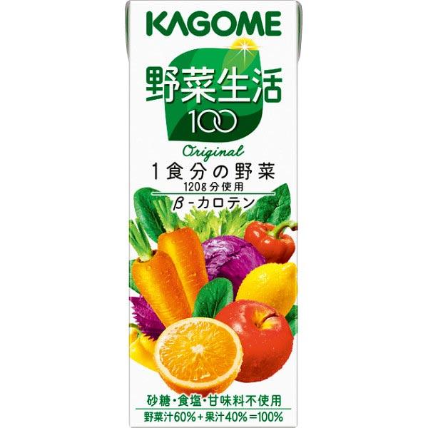 【送料無料】カゴメ 野菜生活100 オリジナル(24本) の商品画像