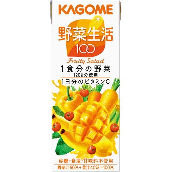 【送料無料】カゴメ 野菜生活100 フルーティーサラダ(24本) の商品画像