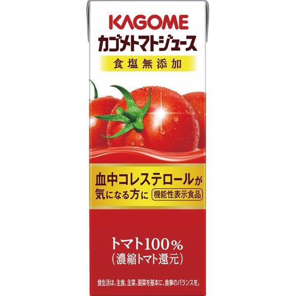 【送料無料】カゴメトマトジュース食塩無添加(機能性表示食品)(24本) の商品画像