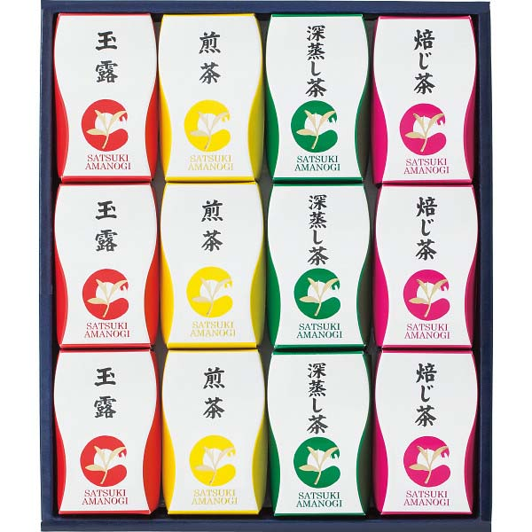 静岡茶テトラパック詰合せ「SATSUKI」 AZP-15 の商品画像