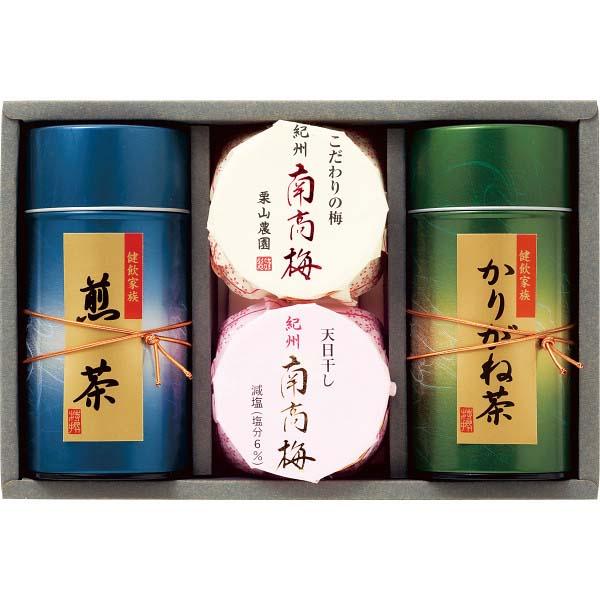 紀州南高梅・静岡銘茶詰合せ UMN-30  の商品画像