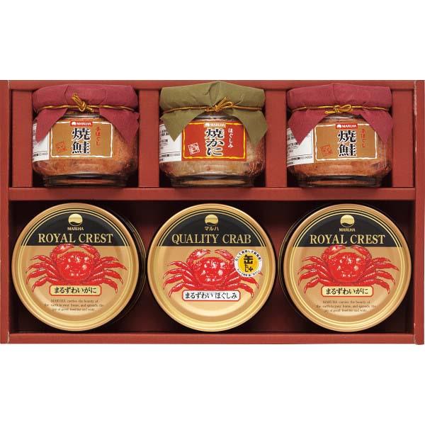 マルハ 高級瓶詰・かに缶詰詰合せ SB-40K の商品画像