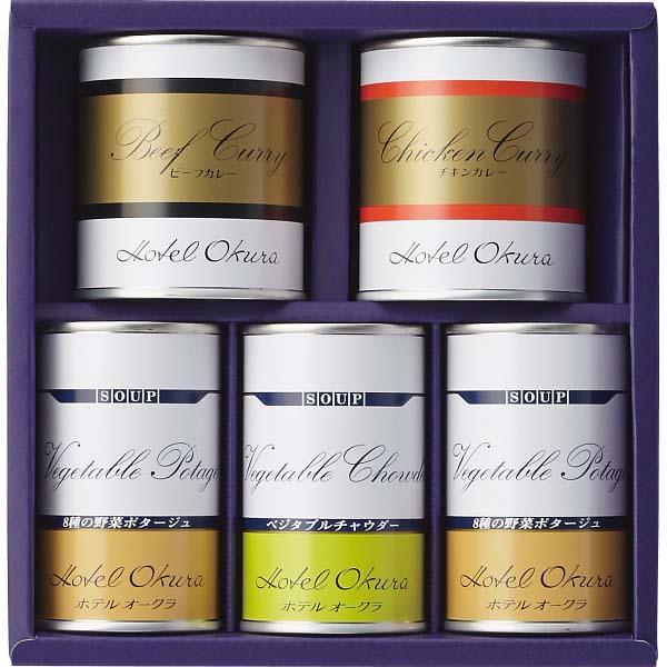 ホテルオークラ スープ缶詰・調理缶詰 詰合せ HO-30SH の商品画像