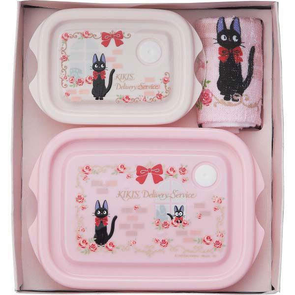 ジブリ レンジ容器3点セット 魔女の宅急便 SET818 の商品画像