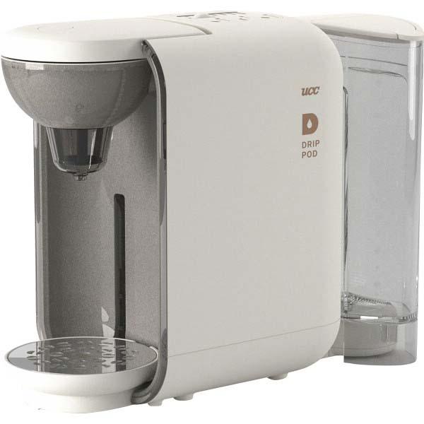 UCC カプセル式コーヒーメーカー「ドリップポッド」 ホワイト DP2(W) の商品画像