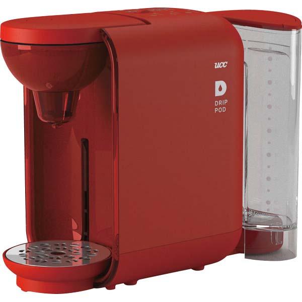 UCC カプセル式コーヒーメーカー「ドリップポッド」 レッド DP2(R) の商品画像