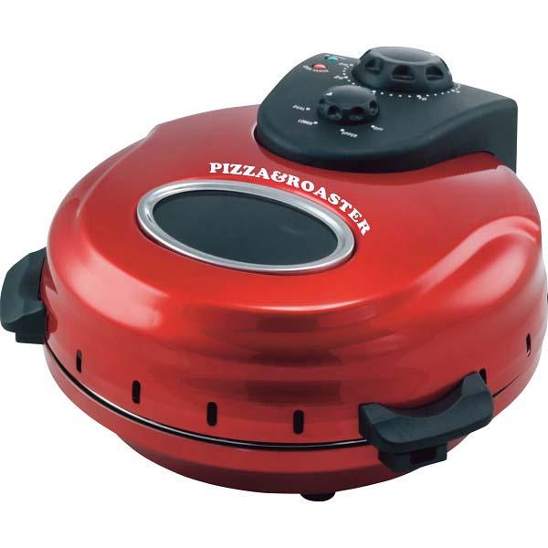 回転石窯ピザ&ロースター メタルレッド FPM-220 の商品画像
