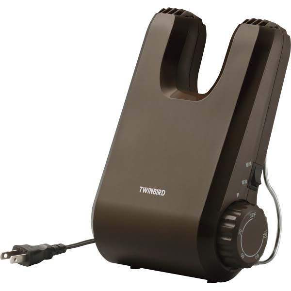 ツインバード くつ乾燥機 ブラウン SD-4546BR の商品画像