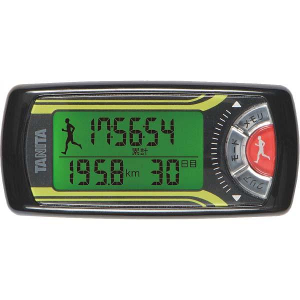 タニタ 活動量計 カロリズム forジョギング ブラック EZ063BK の商品画像