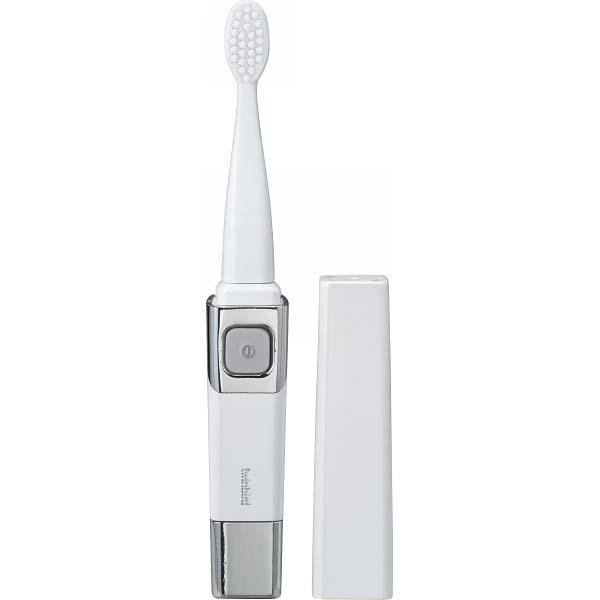 ツインバード 音波振動式歯ブラシ パールホワイト BD-2755PW の商品画像