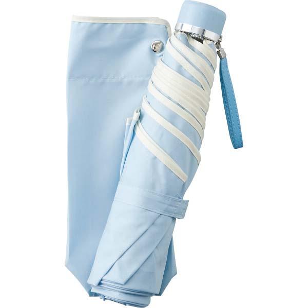 耐風式 折りたたみミニ傘 ブルー 6231-BL の商品画像