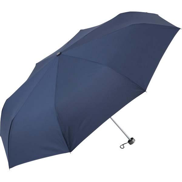 大寸 折りたたみ傘 ネイビー 271-NV の商品画像