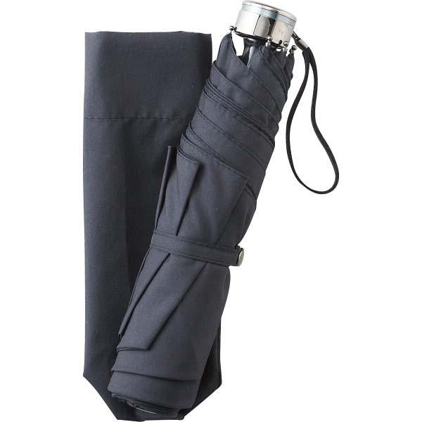 男女兼用 耐風ミニ傘 ブラック OBH-02WSB の商品画像
