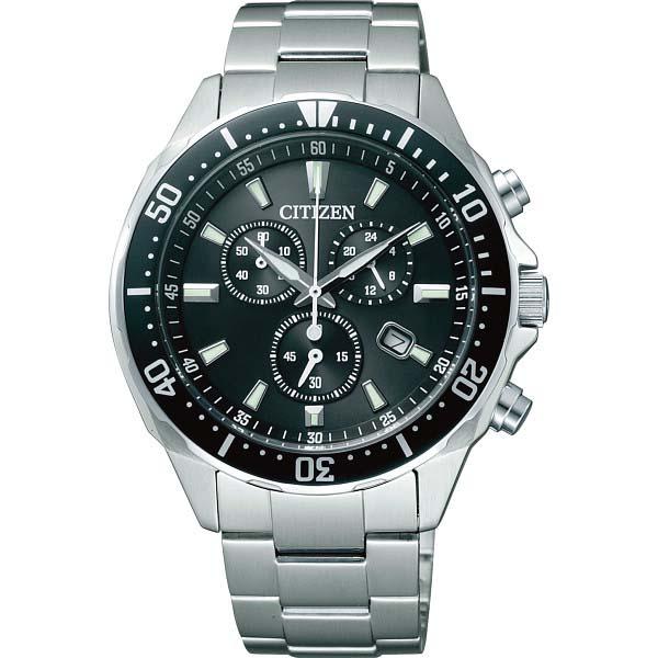 シチズン メンズ腕時計 ブラック VO10-6771F  の商品画像