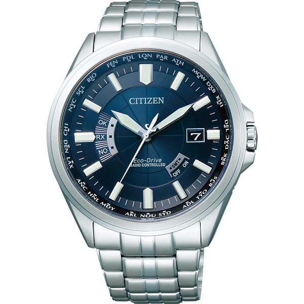 シチズン メンズ電波腕時計 ネイビー CB0011-69L の商品画像