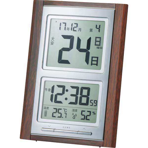 デジタル日めくり電波時計 NA-101  の商品画像