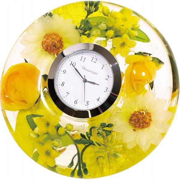 ドリームライト 置き時計 スプリングフラワー CDD7241CL  の商品画像