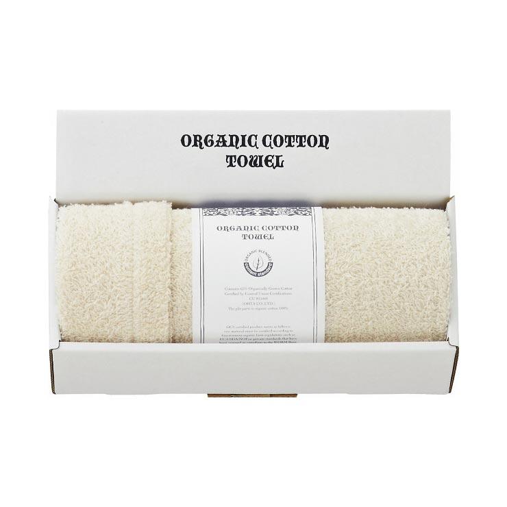 オーガニックコンテントスタンダード認証 フェイスタオル OCS10050 の商品画像