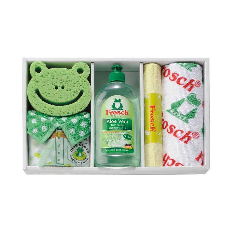 フロッシュ キッチン洗剤ギフト グリーン  の商品画像