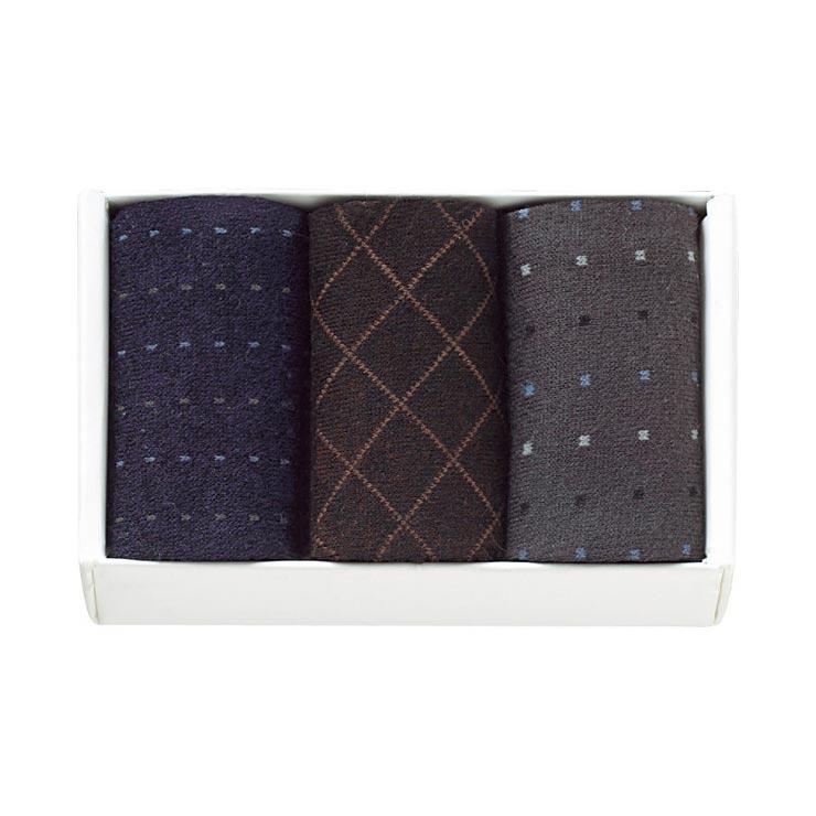 紳士ビジネス&カジュアルソックス 3足セット N−035 の商品画像