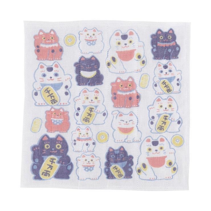 くろちく 大切ふきん招き猫 41604805 の商品画像